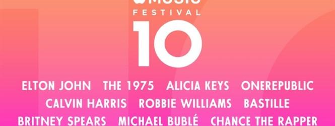 Da oggi parte l' Apple Music Festival , nove concerti imperdibili