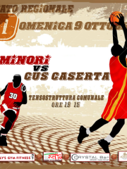 "BASKET SERIE ""D""  G.S. MINORI VS CUS CASERTA"